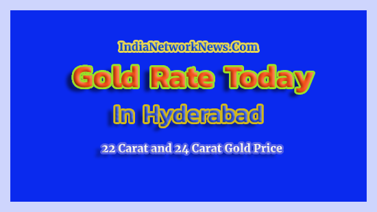 Gold Rate Today In Hyderabad 5 June